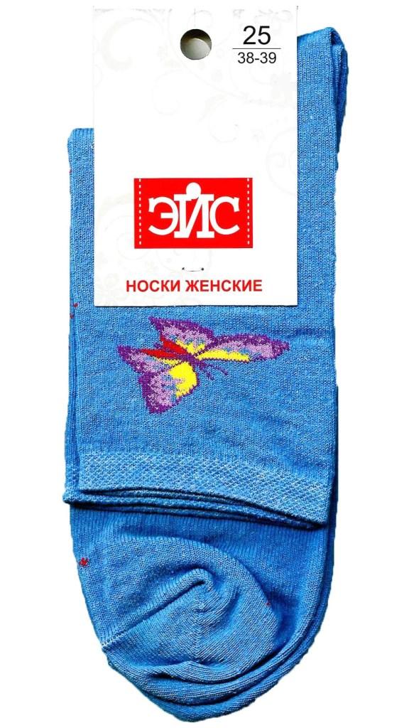 ЭЙС Д124/124ш носки жен хлопок+эл