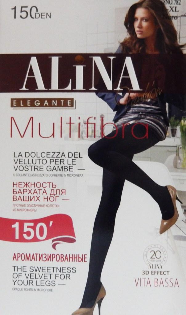 Колготки ALINA 782 150D микроф/аромат