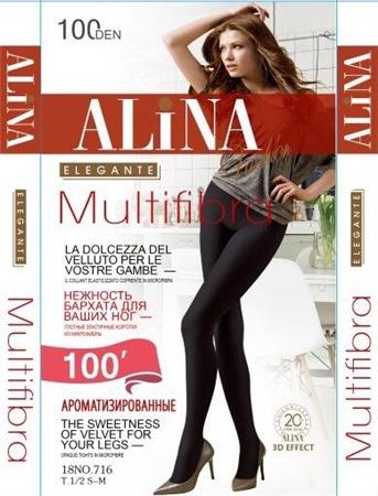 Колготки ALINA 716 100D микроф/аромат